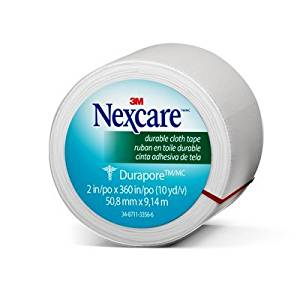 Nexcare(TM) Durapore(TM) Cloth First Aid Tape, 538-P1, 2 in x 10 yds, Rolled You are purchasing the Min order quantity which is 24 RLS