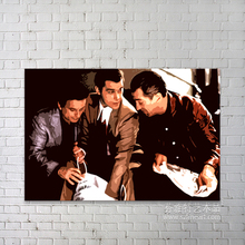 Alibaba handmade movie star poster colour painting