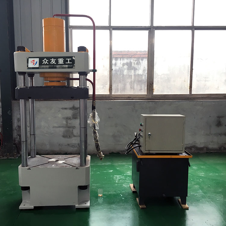forklift tire press machine