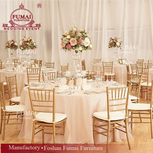 Wholesale tiffany aluminum china chiavari chairs stackable for sale