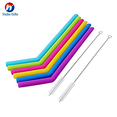 Customizable reusable collapsable stainless steel straw and brush set