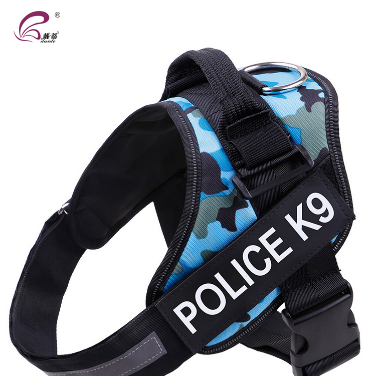 Professional design modern dog backpack harness vest