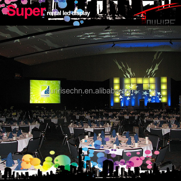 Leading role in this line rental display video screen p4.81/p3.91 water-proof high quality products outdoor/indoor led display