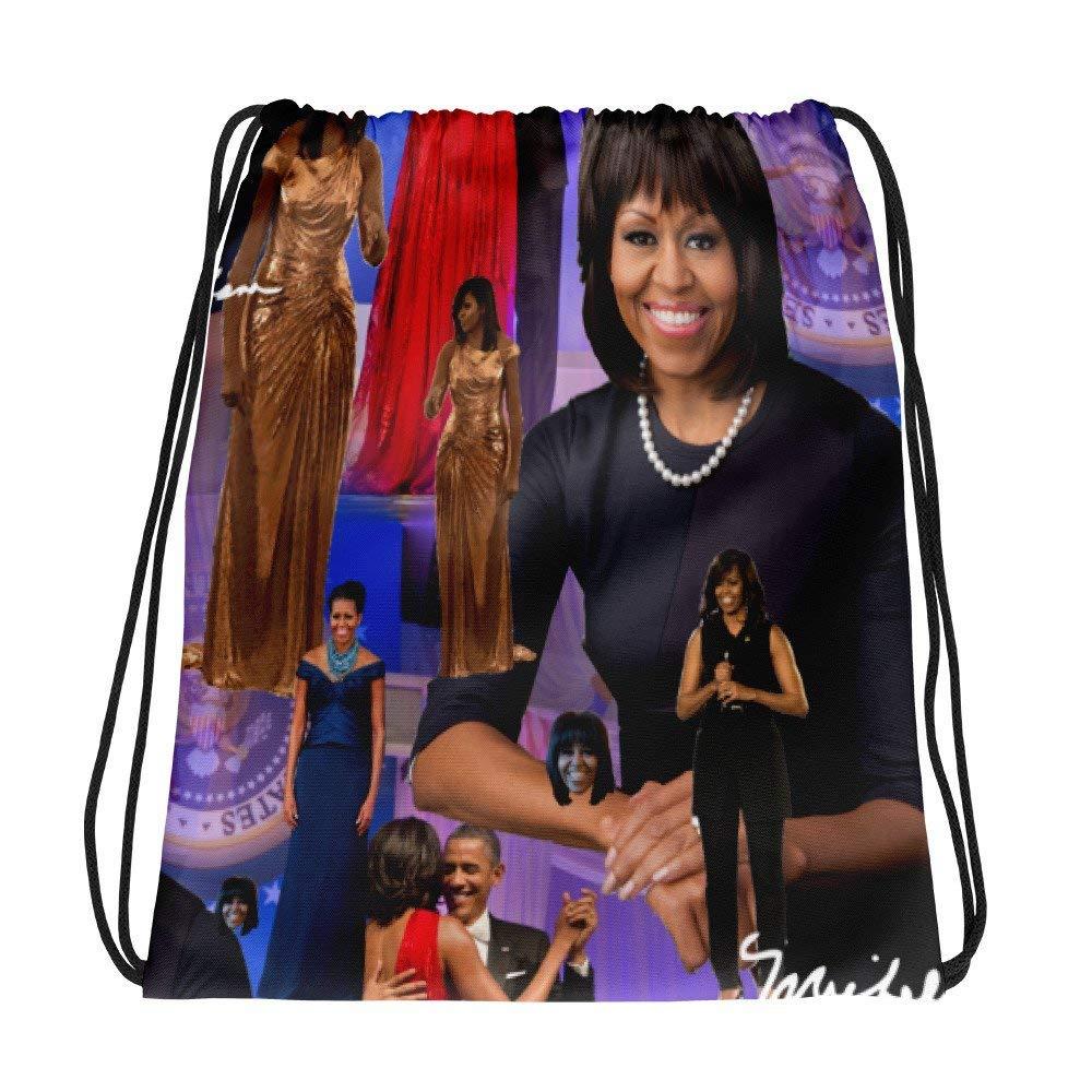 michelle obama Drawstring bag backpack purse