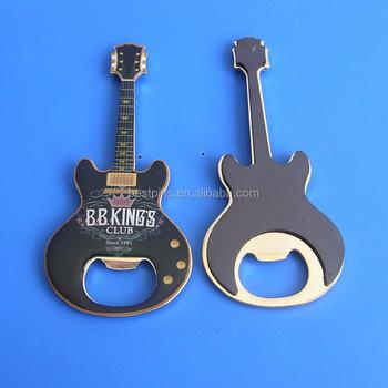 Guitar beer bottle opener magnet for fridge buy guitar shaped bottle openers guitar bottle - Beer bottle opener fridge magnet ...