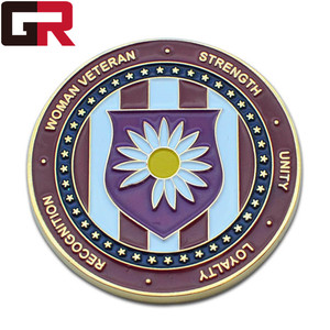 wholesale custom 3d promotional oem enamel souvenir challenge coin antique metal decorative
