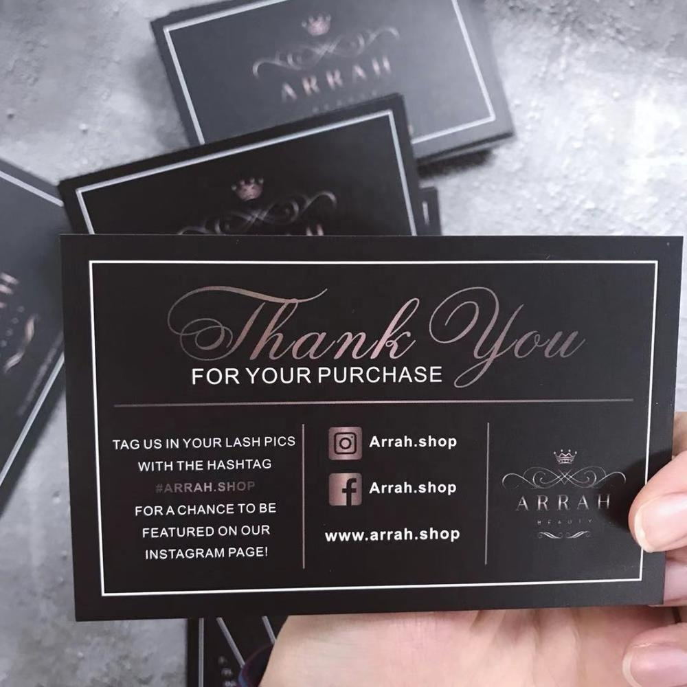 Customized Colorful paper Thank You Cards, High Quality Custom paper Cards,Thank You Cards