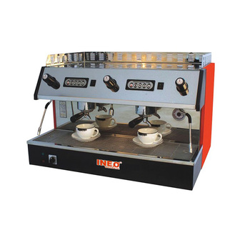 Restaurant Coffee Shop Double Head Semi-Auto Commercial Cappuccino Espresso Coffee Machine