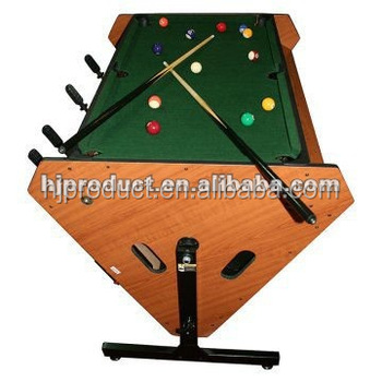 Turning Multi Purpose 3 In 1 Foosball Table With Billiard And Air Hockey  Table