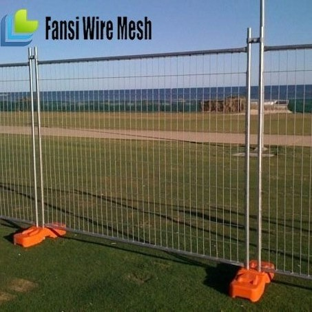 Safety quick galvanized wire lightweight temporary fencing
