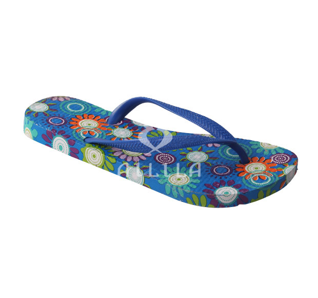 PVC lady flip flop chappals women new flip flop slippers footwear made in China