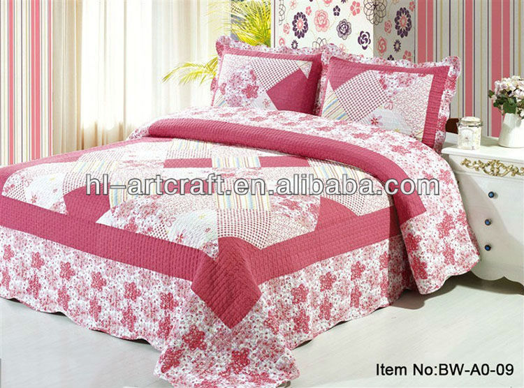 Bw A0 13 100 Cotton New Hand Embroidery Designs For Bed Sheet Material