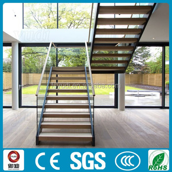 Dog Legged Stairprecast Residential Staircasewood Stairs Yudi