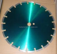 Modern custom-made saw blank for diamond saw blade