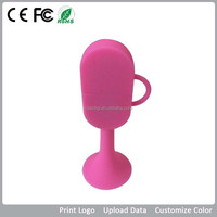 free sample win cup silicon/pvc PMS color 8g customized logo promotional thumb usb