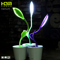 New Design Energy Saving Green Rechargeable Desktop Flexible Reading Lamp Led