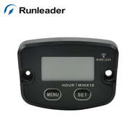 wireless resettable hour meter RL-HM020 Used For Pit Bike Motocross Machine Motor Truck Motorcycle