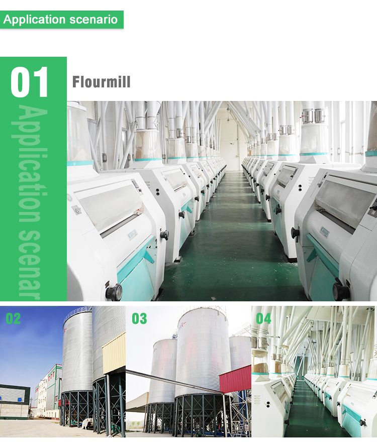 High capacity multi-storey structure  rice milling equipment rice almond flour mill machine