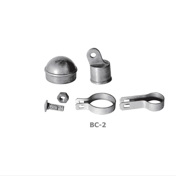 Silver Chain Link Fence Fittings