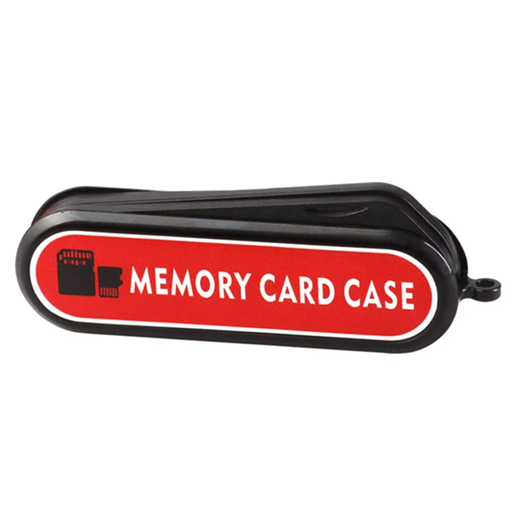 MagiDeal Anti-shock Memory Card Case for 1×SD 6×TF 3×SIM 1xTF Card Reader 1xCard Pin