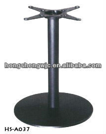 Exceptionnel Cross Top Metal Round Table Base Wrought Iron Table Leg Furniture Leg  HS A037