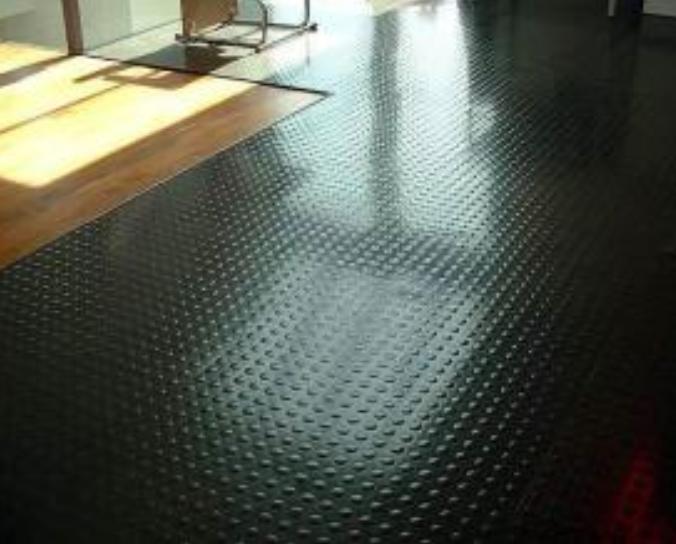 Round Stud Rubber Mat Anti Slip Coin Stud Rubber Floor