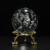 Clear Shining Bubbles Glass  Crystal Ball Feng Shui Magic Glass Crystal Ball