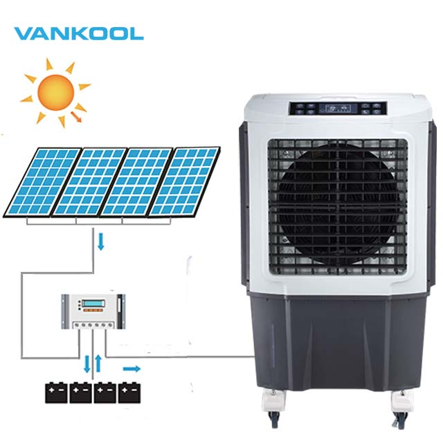 vankool Factory best quality solar air conditioner 6000CMH <strong>portable</strong> industria air cooler