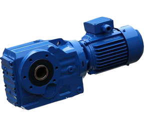 helical bevel gear motor reductor