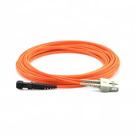 Patchcord MTRJ untuk SC Mm 50um Duplex 2 Mm Kabel Mtrg Fiber Optic