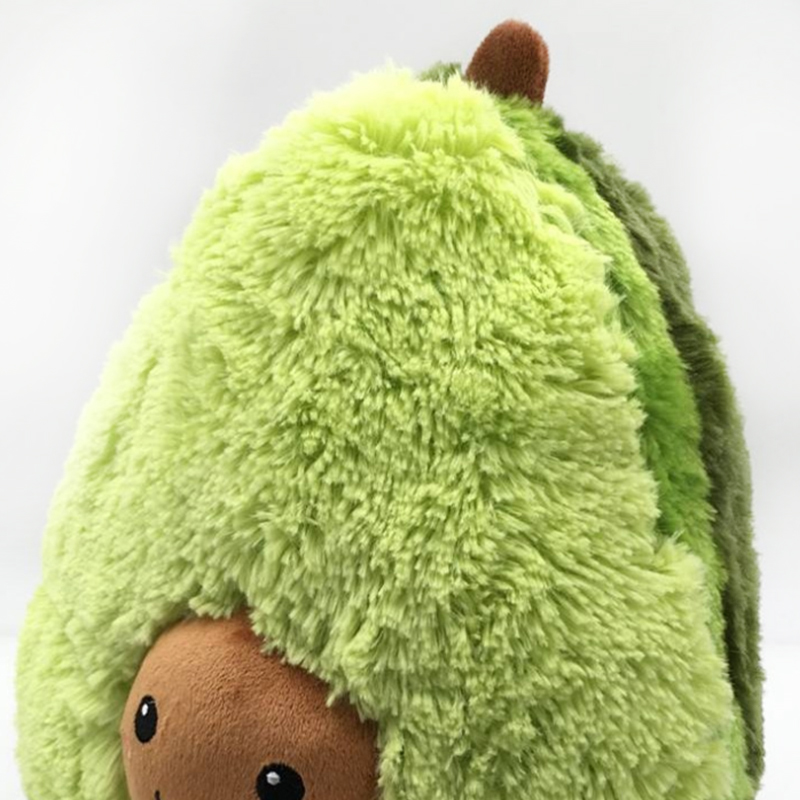 Hot Sale Plush Toys Avocado Stuffed Toy Soft Plush Baby Pillow Rag Doll Avocado Pillow