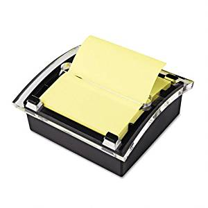 Post-it Pop-up Notes Products - Post-it Pop-up Notes - Clear Top Pop-up Note Dispenser for 3 x 3 Self-Stick Notes, Black - Sold As 1 Each - Provides continuous dispensing of Post-it Pop-up notes for easy use. - Desktop design keeps your workspace neat and organized. - Includes one 50 sheet pad in