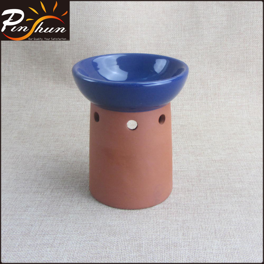 Ceramic terracotta aroma oil burner