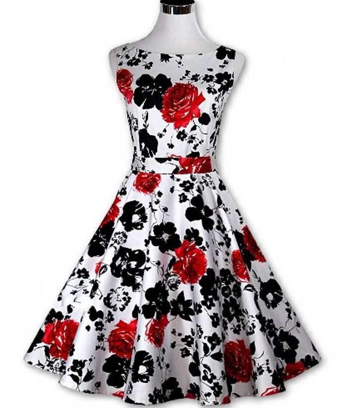 Buy Sour Cherry Vintage Vogue Dress Pattern Necklace Style 1 (18 ...