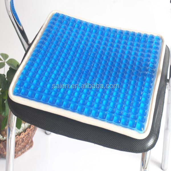 Newly Portable Roll Up Cooling Polyurethane Gel Car Seat