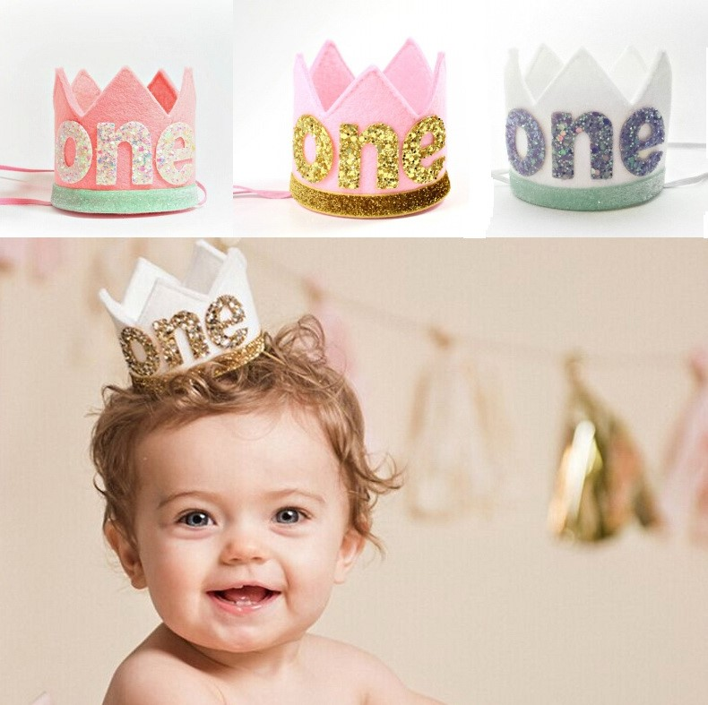1st Birthday Outfit Boy Birthday Crown One Baby Crown