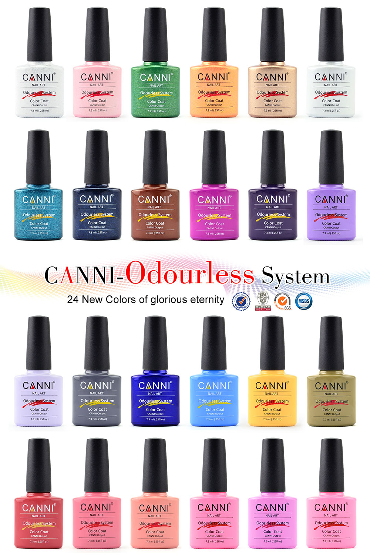 30917j Wholesale High Quality Canni 238 Colors Uv Neon Color Nail ...