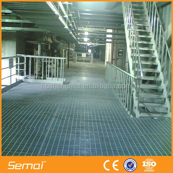 SEMAI Galvanized Steel Grating Walkway