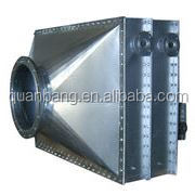round carbon steel fin tube air heating exchanger
