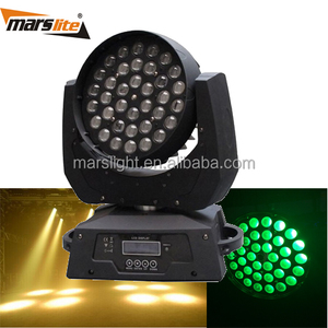 36x10W wash led moving head with zoom led beam moving head light