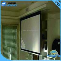 3D Mini Electric Screen HD Wall Mounted Motorized Projector Screen/Projector Electronic Screens