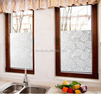 Pineapple Kitchen Wall Art Dining Room Decor Window Glass Stickers Vinyl Wall  Sticker PVC Home Decoration
