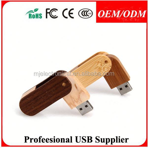 2015 gift hot sell customized wood usb stick , 256mb ellipse wooden usb pen drive