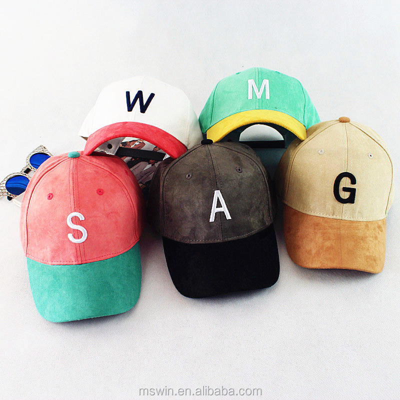 263c3f0107467 Wholesale Alibaba 6 Panel Embroidery Logo Custom Suede Dad Hats ...