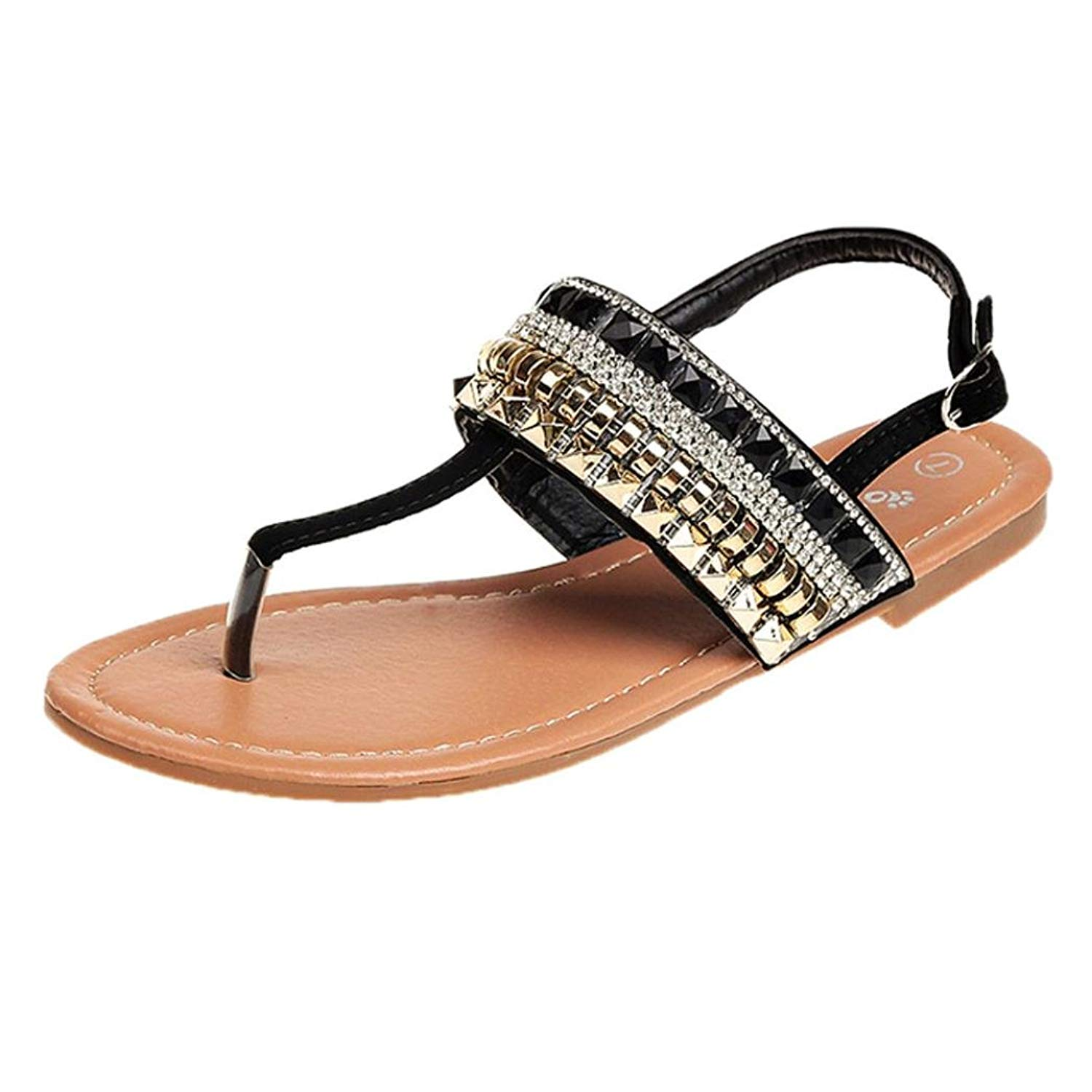 3e7a5eca9c5fe Get Quotations · Goodtrade8® Clearance ❤ Bohemia Sandal for Women
