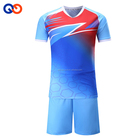 Custom kids sublimation soccer jersey set uniform