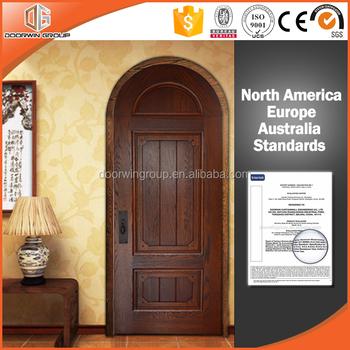 Modern wooden door designs for house solid wood interior for Round door design