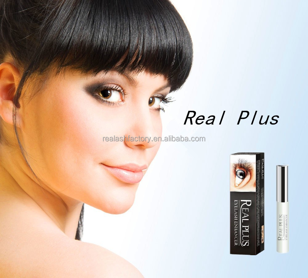 Bulk REAL PLUS eyelash grower Top selling organic cosmetic eyelash item
