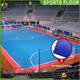 Quality guarantee polypropylene pp interlocking indoor plastic football field carpet surface,indoor soccer court floor
