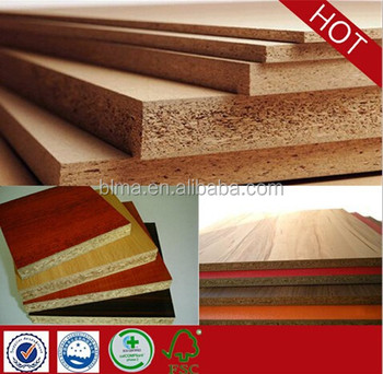 Laminated Particle Board Melamine Raw